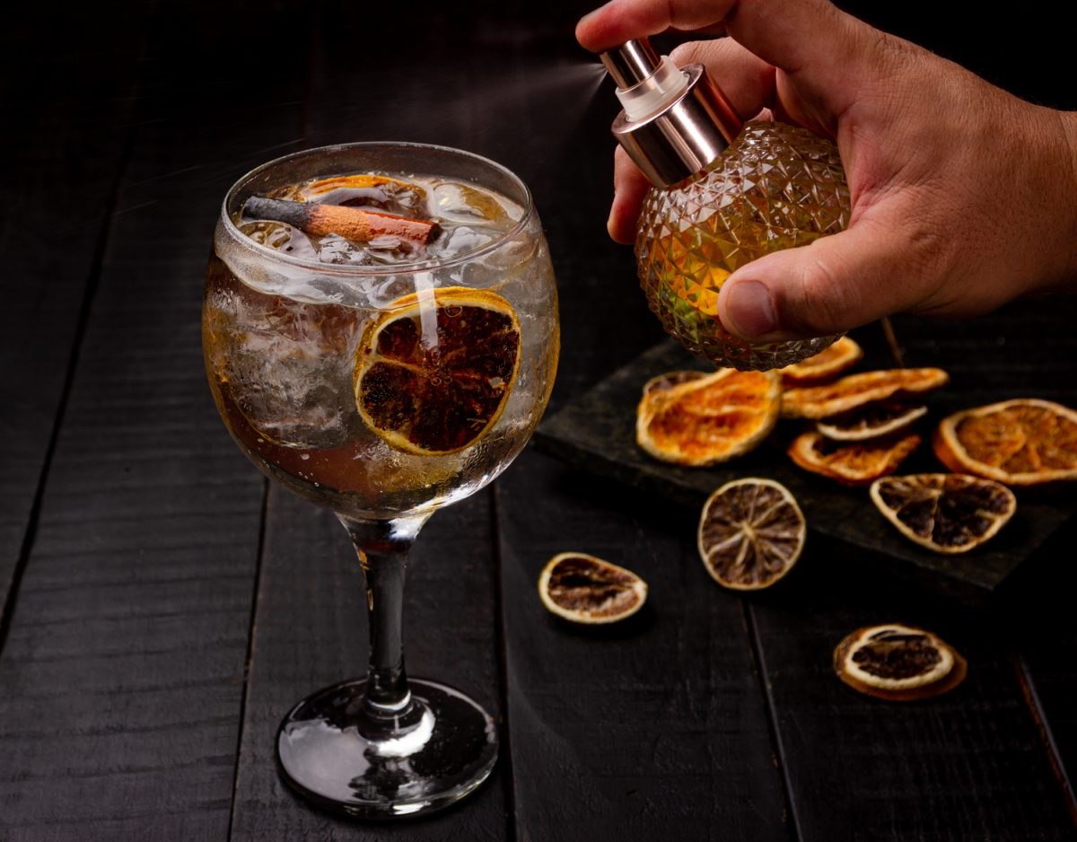 gin tônica defumada